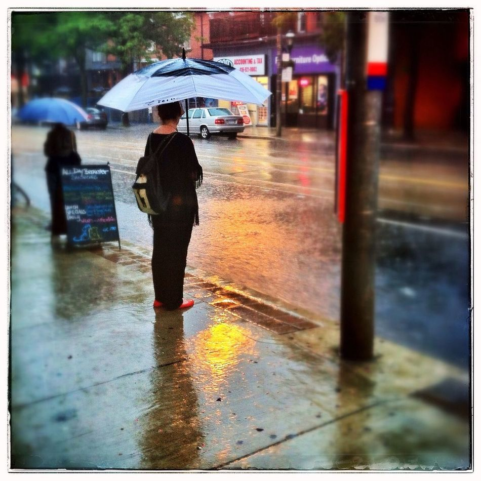 The Street Photographer - 2014 EyeEm Awards GTA Toronto Rain