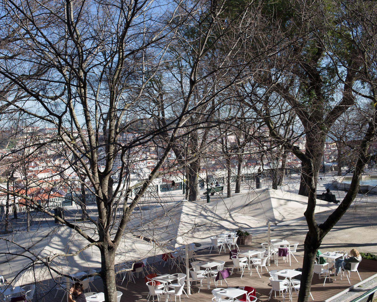 beautiful portugal Adult Adults Only Architecture Bare Tree Building Exterior City Cold Temperature Crowd Day Ice Rink Large Group Of People Nature Outdoors People Sky Snow Tree Winter