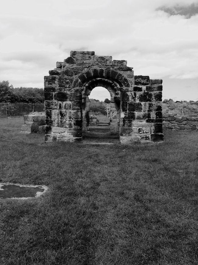 Wallsend Holy Cross Church Medieval 1000 Years Of History History Historical Monuments Witches Monochrome Monochrome_Monday Black & White Black And White Collection  EyeEm Best Shots Eye4photography  Filtered Image