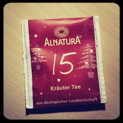 Also Kräuter geht ja immer,in jeder Form! ^^ Tea ALNATURA