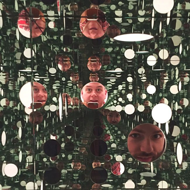 Copenhagen, Denmark Copenhagen Denmark Louisiana Museum Of Modern Art KusamaYayoi Kusama Yayoi Reflection Reflections Self Portrait Selfie ✌ Selfportrait Pattern Pieces