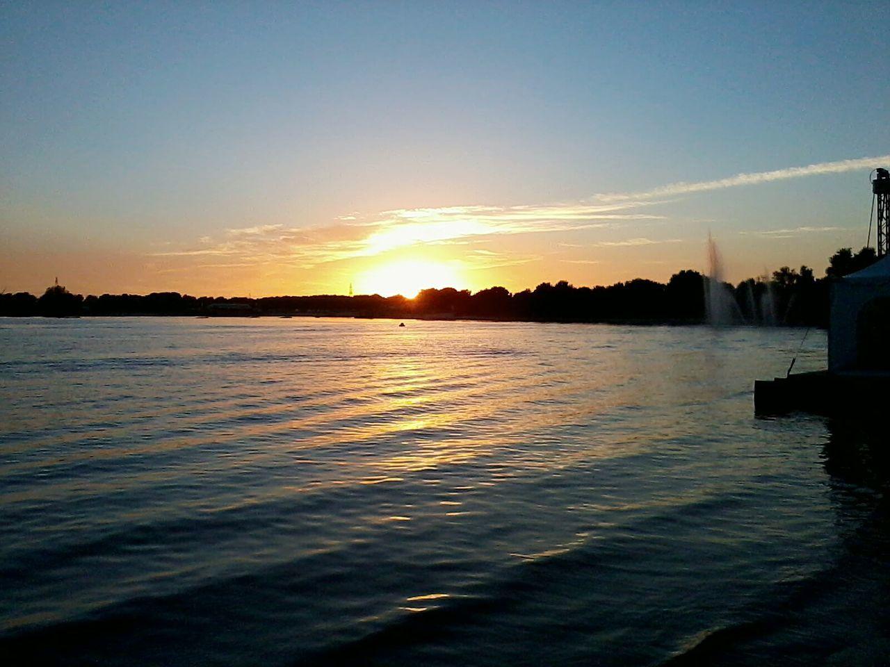 Sunset at Lake Heede in Heede (Germany/LS/Emsland) 2014 Heede Heeder See Emsland Lower Saxony Lake Heede Lakes  Sunset Niedersachsen German Lakes 2013