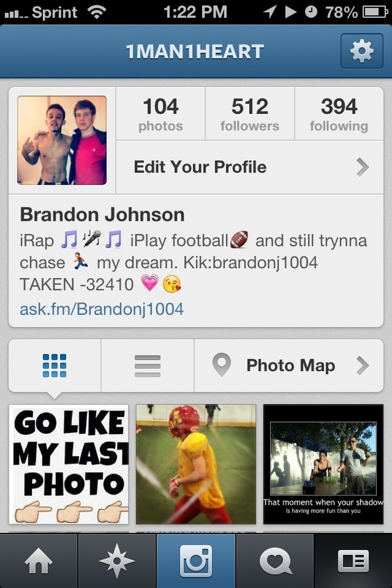 Help me get my followers up on IG i follow back !