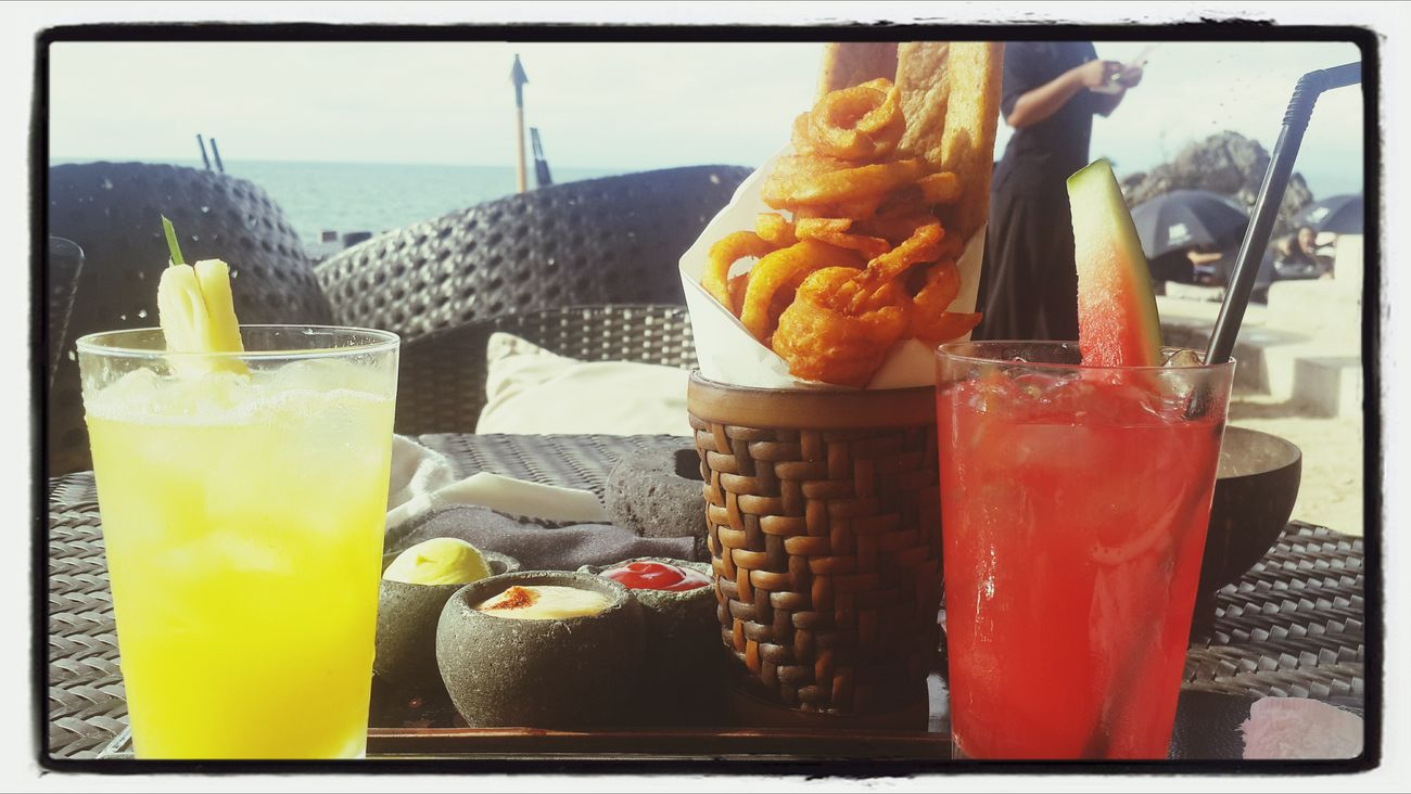 Mix fries & double jus @rockbar Bali Ayana Resort First Eyeem Photo