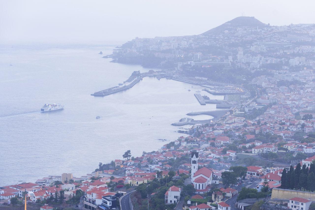 Capital City Destination Fireworks Funchal Holiday Madeira Night Portugal Tourism Travel