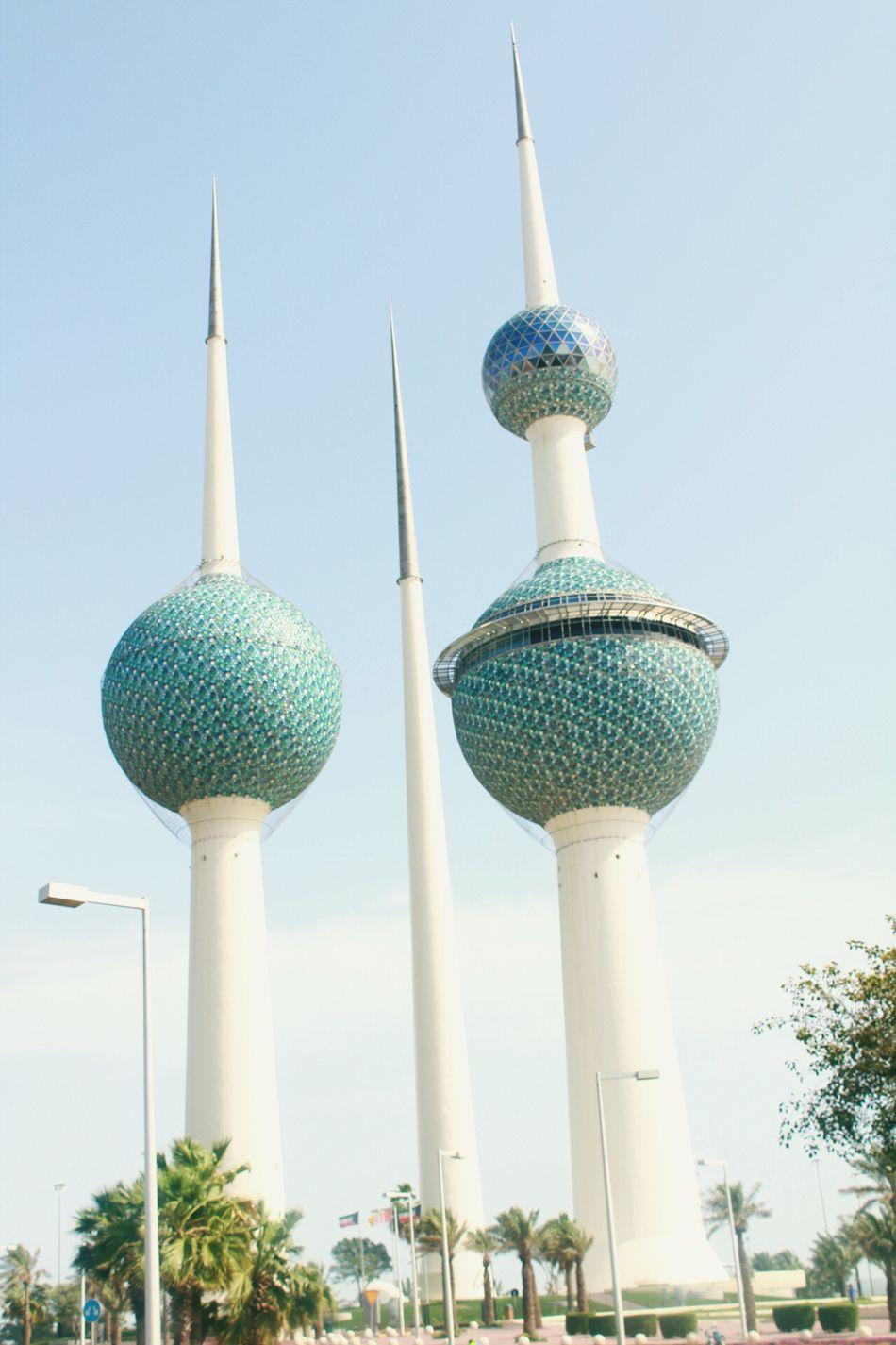 Kuwait Towers Landmark Passerby EyeEmNewHere