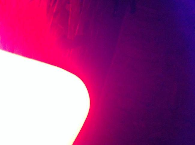 Всего лишь стаканчик на лампе Светильник свет красный