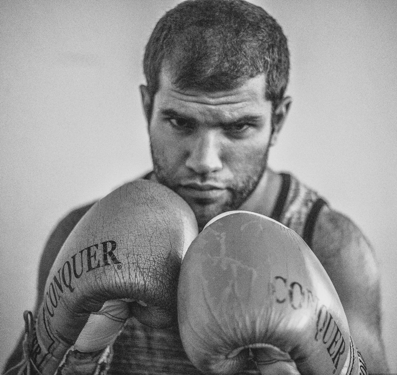 Boxing - Sport Only Men One Man Only Boxing Glove Men Indoors  One Person Shirtless P Sportsman Adults Only Exercising Studio Shot Strength Human Body Part Young Adult Headshot One Young Man Only Young Men The Portraitist - 2017 EyeEm Awards