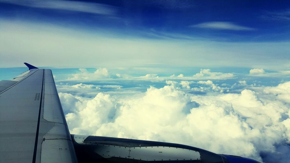 Clouds Looks Like Sea & Sea Tides Window Wing Shot Wingshot Aeroplanewindowshot Planewindowview Aeroplane Window Windowshot Window Airshow Cloud - Sky Air Vehicle Aeroplane Window View Aeroplane Window Wing Shot