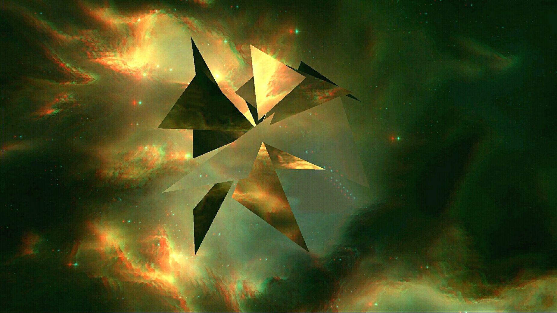 Die Unendlichkeit der Sphären . 2016 Art Light And Shadow Getting Inspired Space Stars Silence Fantasy Geometry Objects