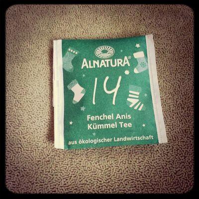 Hab ich nicht angerüht,nein danke!Das ist für mich der ekligste Tee überhaupt... Tea ALNATURA