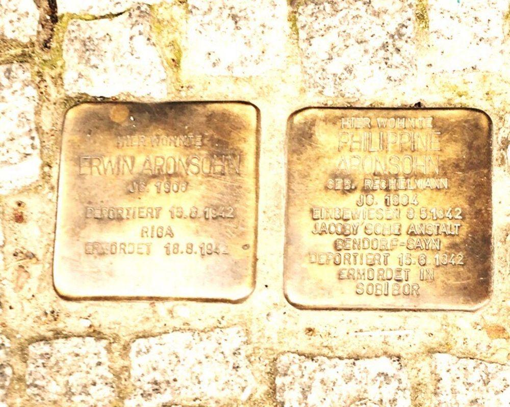 43 Golden Moments Berlin Holocaust Memorial Stolpersteine