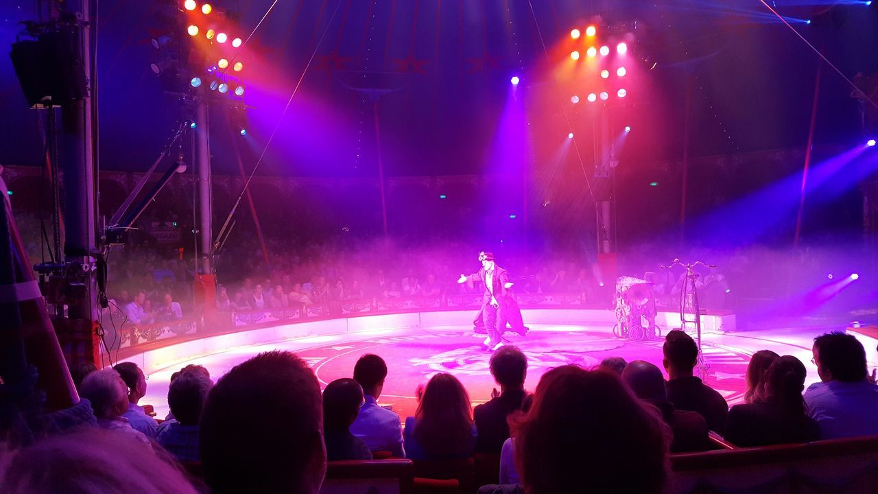 Performance Stage - Performance Space Circus Show Must Go On Entertainment
