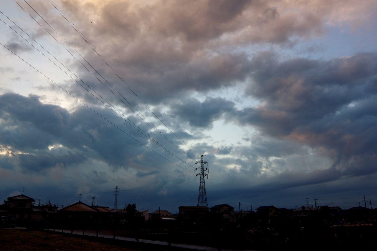 おつかれさま。 Cloud - Sky Twilight Pentax K-3 夕暮れ時 おつかれさま