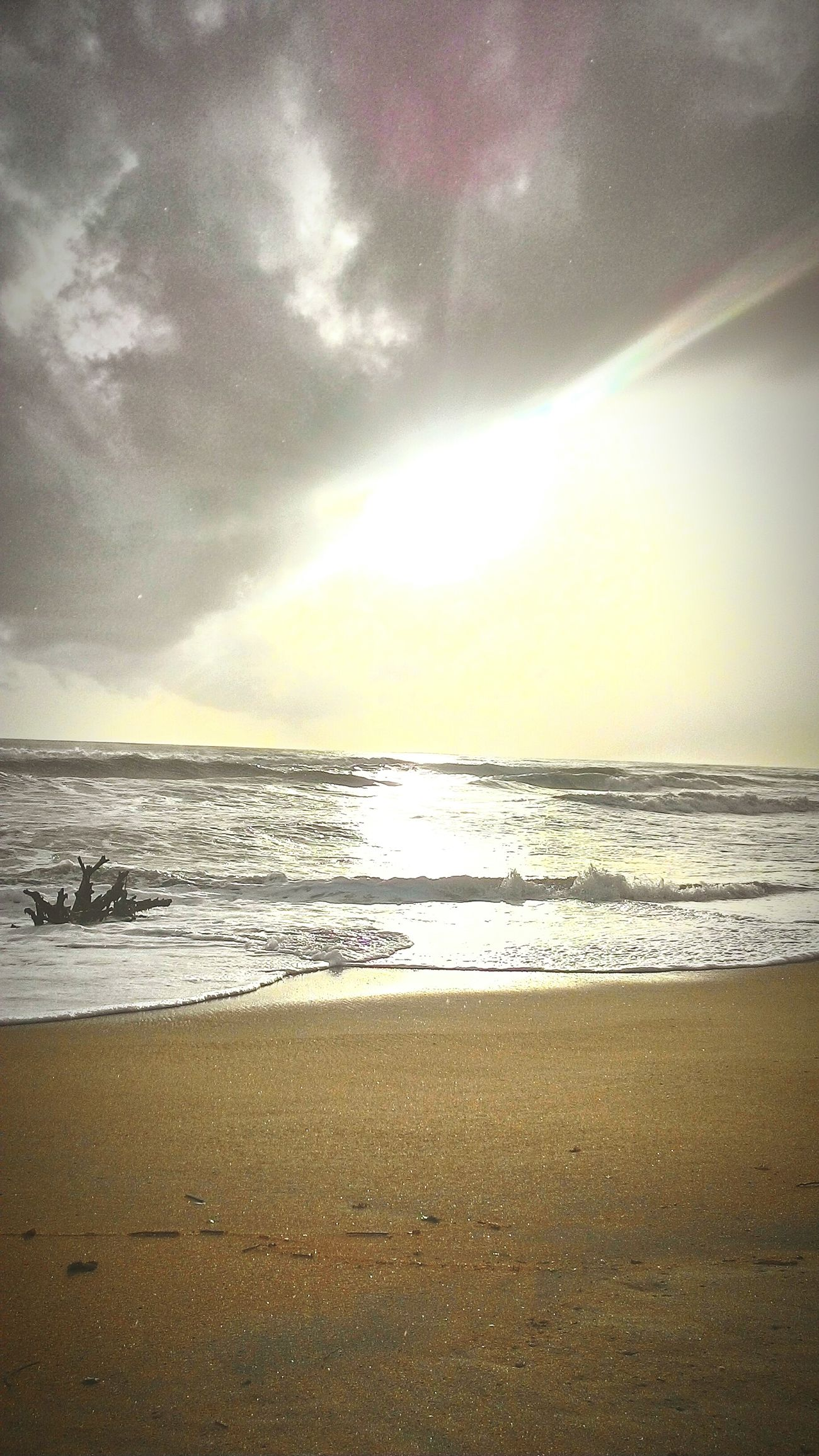 Emerging rays after the rain. Being A Beach Bum Kerala India Beachphotography Beach Enjoying The Sun Sea