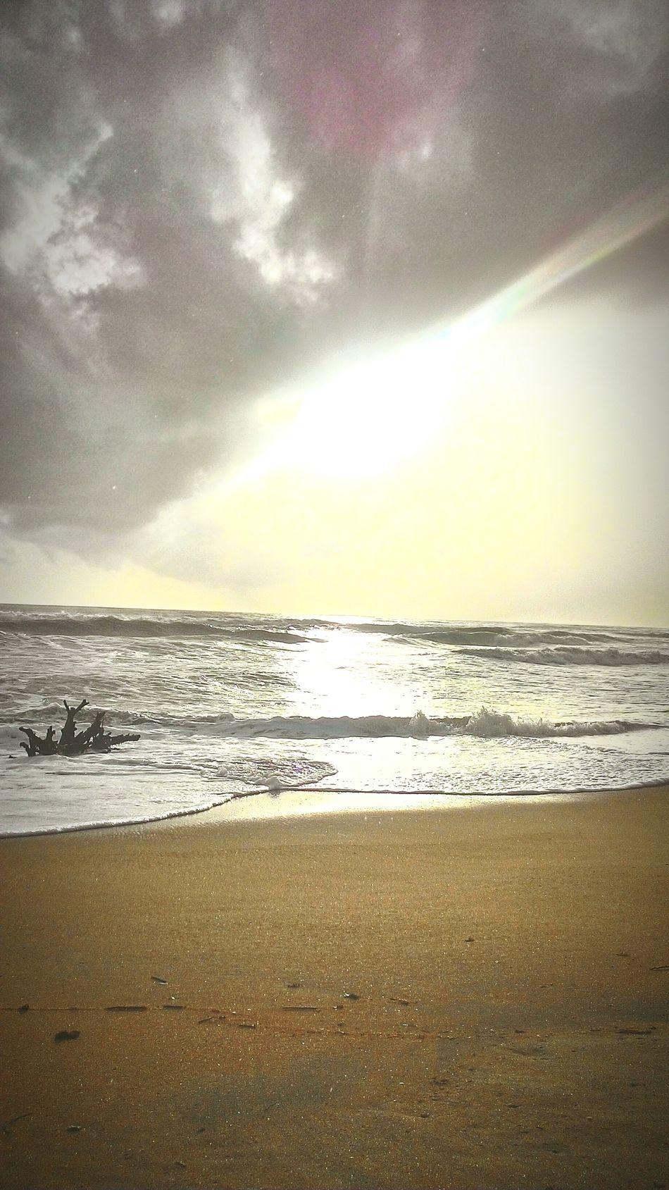 Emerging rays after the rain. Being A Beach Bum Kerala India Beachphotography Beach Enjoying The Sun Sea