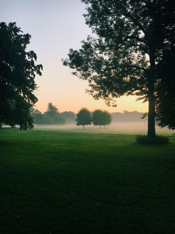 Englischer Garten Munich Nature Park Morningrun
