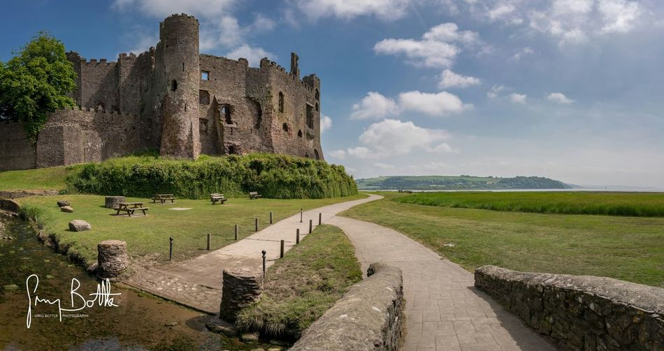 Castle Wales Landscape_Collection Historical Building History Landscape_photography Uk EyeEm Masterclass EyeEm Best Shots - Landscape Sony Images Sony A7RII Sonyalpha Eye4photography  Summer Sea And Sky