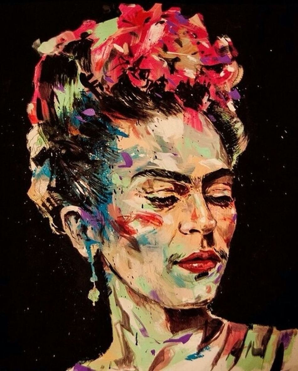 Fridakahlo Greatpeople Colourful