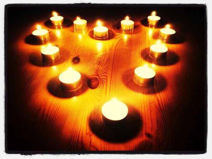 Candle Light Surprise! Einfach mal so! Thinkaboutyou!