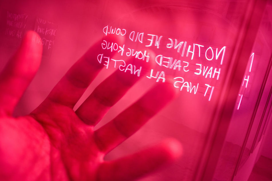 Millennial Pink Indoors  Communication Close-up Text Pink Color EyeEm Best Shots Human Body Part Double Exposure Neon Lights Neon Color Hand Lifestyles