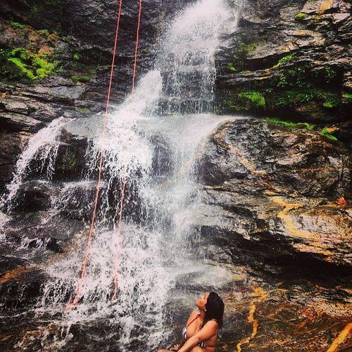 Waterfall Goodvibrations Nature Instario serenity