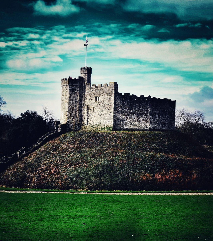 Castle - Wales Built Structure Castle Castle View  Travel Destinations Wales UK Uk Cardiff Architecture No People Miles Away