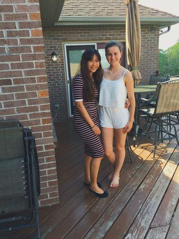 Me and my sister, Romy. She's from Germane! Sisters ❤ Sistersforlife