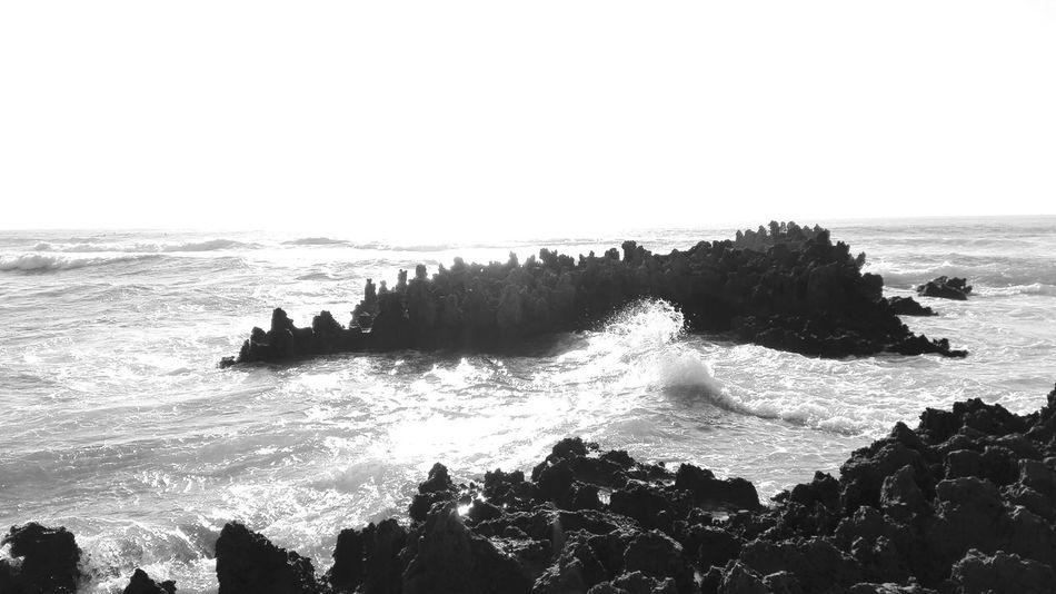 """Taking Photos Whats This? Ocean Beach Rocks And Water White And Black """" Praia Amoreira ,Aljesur pt."""""""
