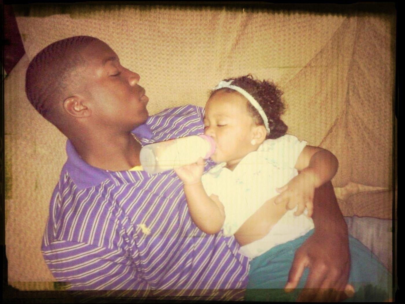 Me and KayKay Sleep