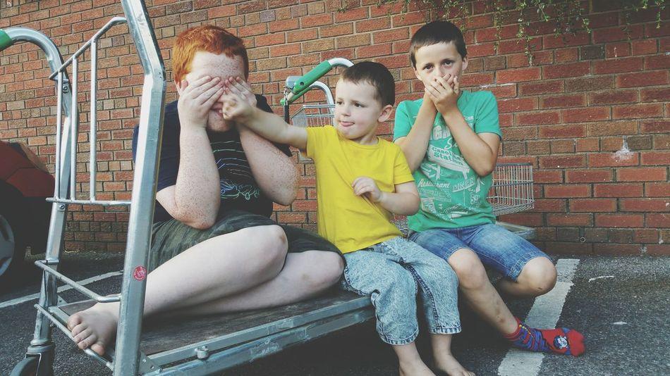 Three Monkeys My Boys Jack Calum Henry