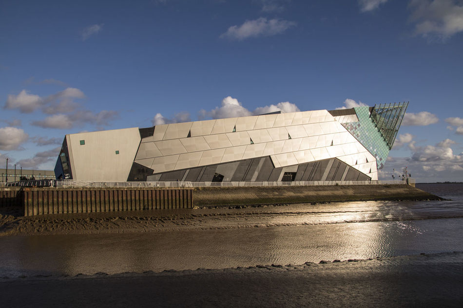 Architecture Building Exterior Built Structure Day Hull Hull 2017 Hull City Of Culture 2017 No People Outdoors Sky The Deep Hull