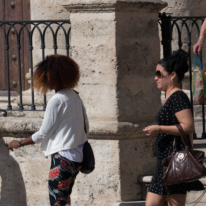 Visitors of the Havana Cathedral on Sunday Casual Clothing Cuba Cuba Collection Day Havanna, Cuba Peoplephotography Sunday Two Women