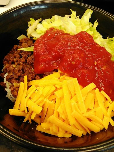 Food Food And Drink Ready-to-eat Freshness No People Indoors  Meal Homemade Healthy Eating Gourmet Close-up Okinawan Foods Taco Rice