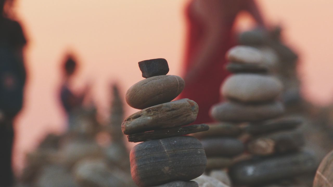 Stack Day Close-up Summer Vibes Sunset People Togetherness Zen Rock At Sunset Zen Rock At Beach Zen Rock On Beach Rock - Object Rock Formation