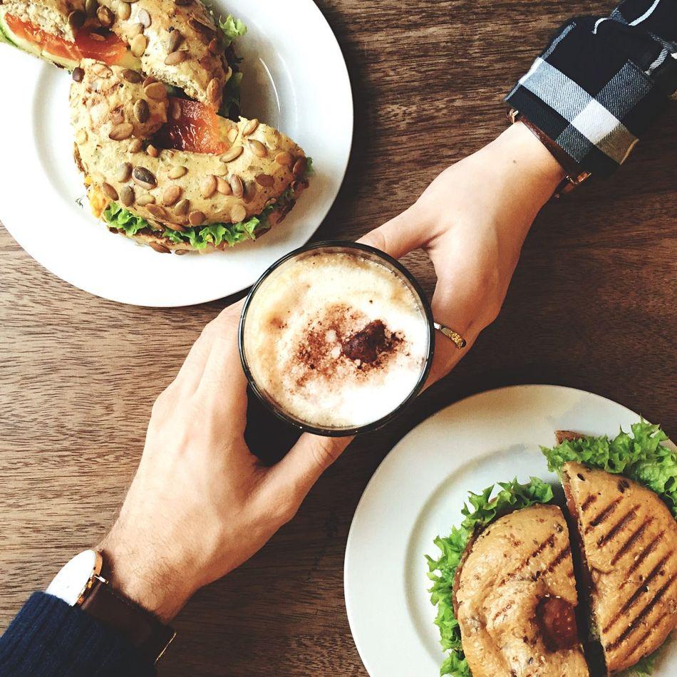 Beautiful stock photos of breakfast, Breakfast, Bun, Coffee, Cup