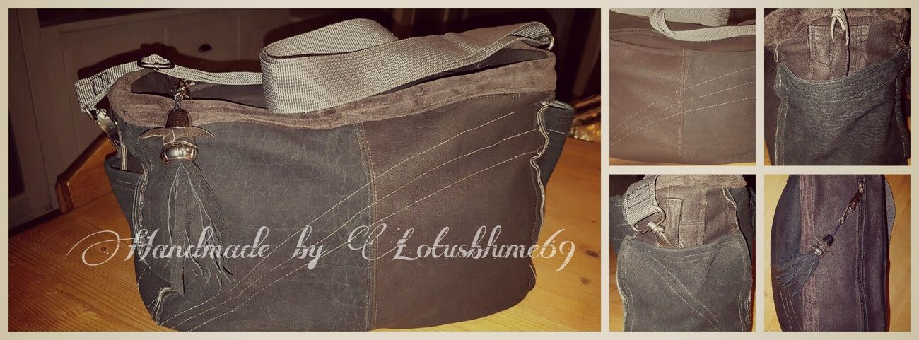 Copyright By LotusBlume69 😉 👍 Love It ❤ Streamzoofamily Friends Streamzoo Family Handmadewithlove Leather Bag MadebyMe ☝✌