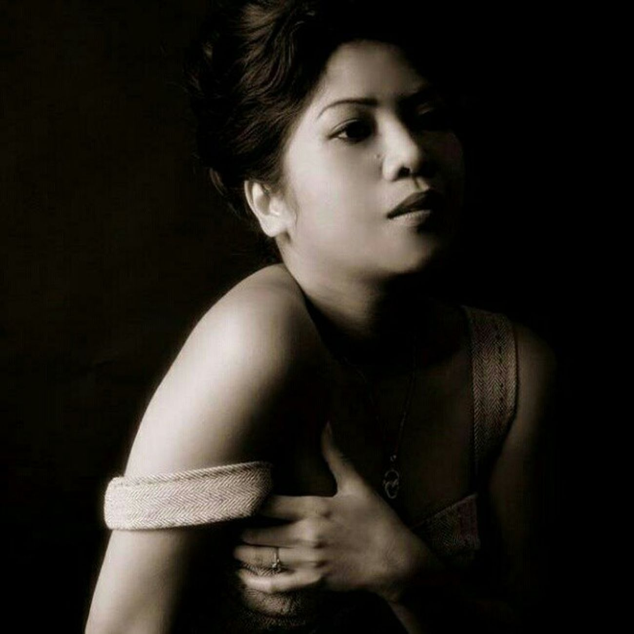 By Paul Le Roy Modeling Blackandwhite Splitlighting Photographyoftheday photography photographylover