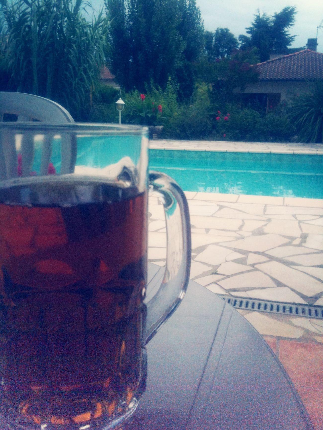 Summer ice tea