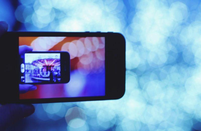 Bokeh IPhone Illumination France