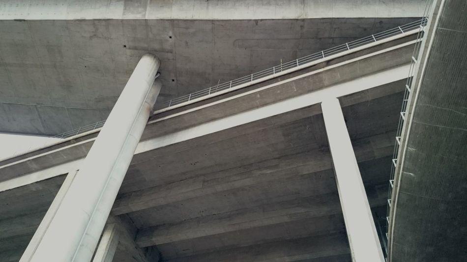 Interaction Bridges Greyscale Skanstullsbron Johanneshovsbron