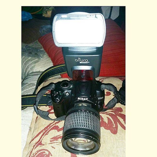 New set up! External flash kit! Woop woop! Nikon DSLR D5000 Externalflash photographer photography photographylovers photographyislifee