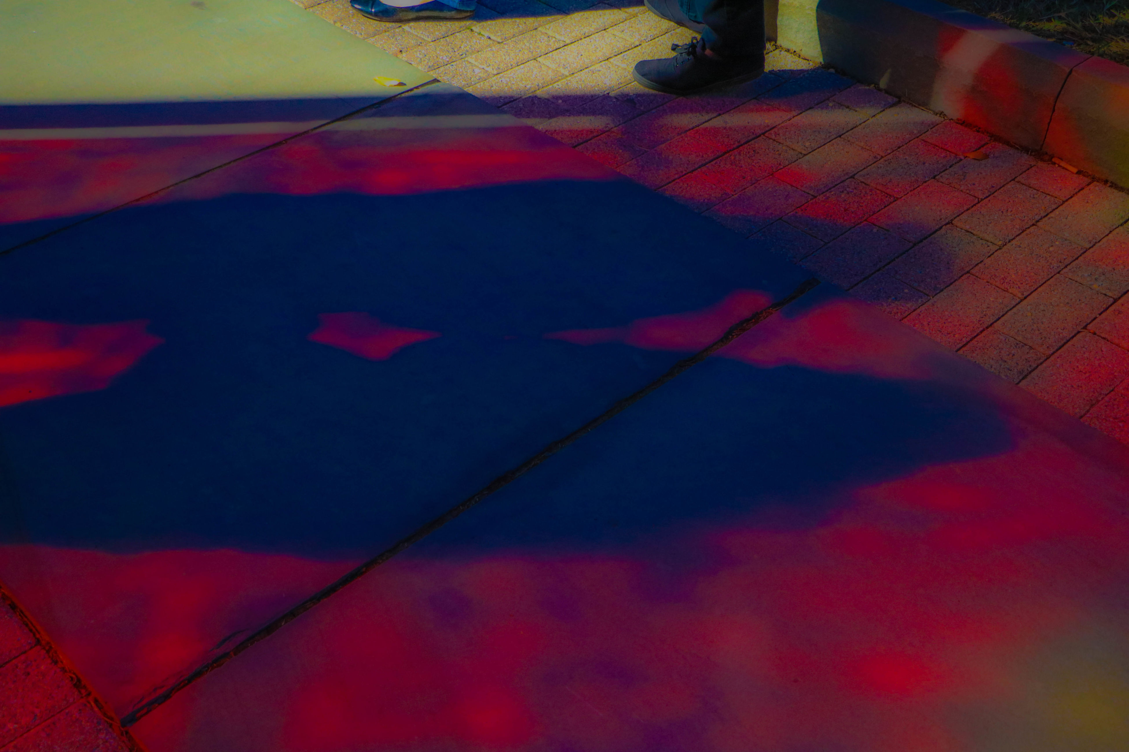 red, shadow, textile, no people, multi colored, indoors, patriotism, close-up, day