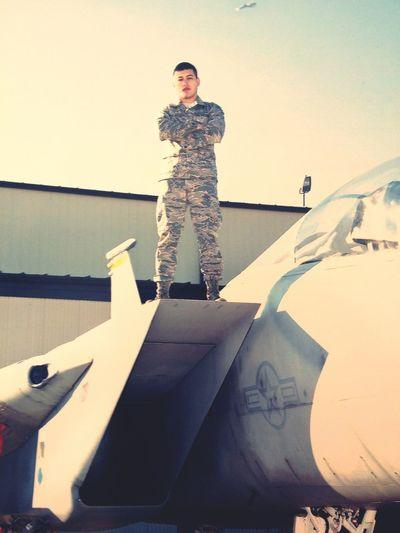 F-15 Crew Chief!