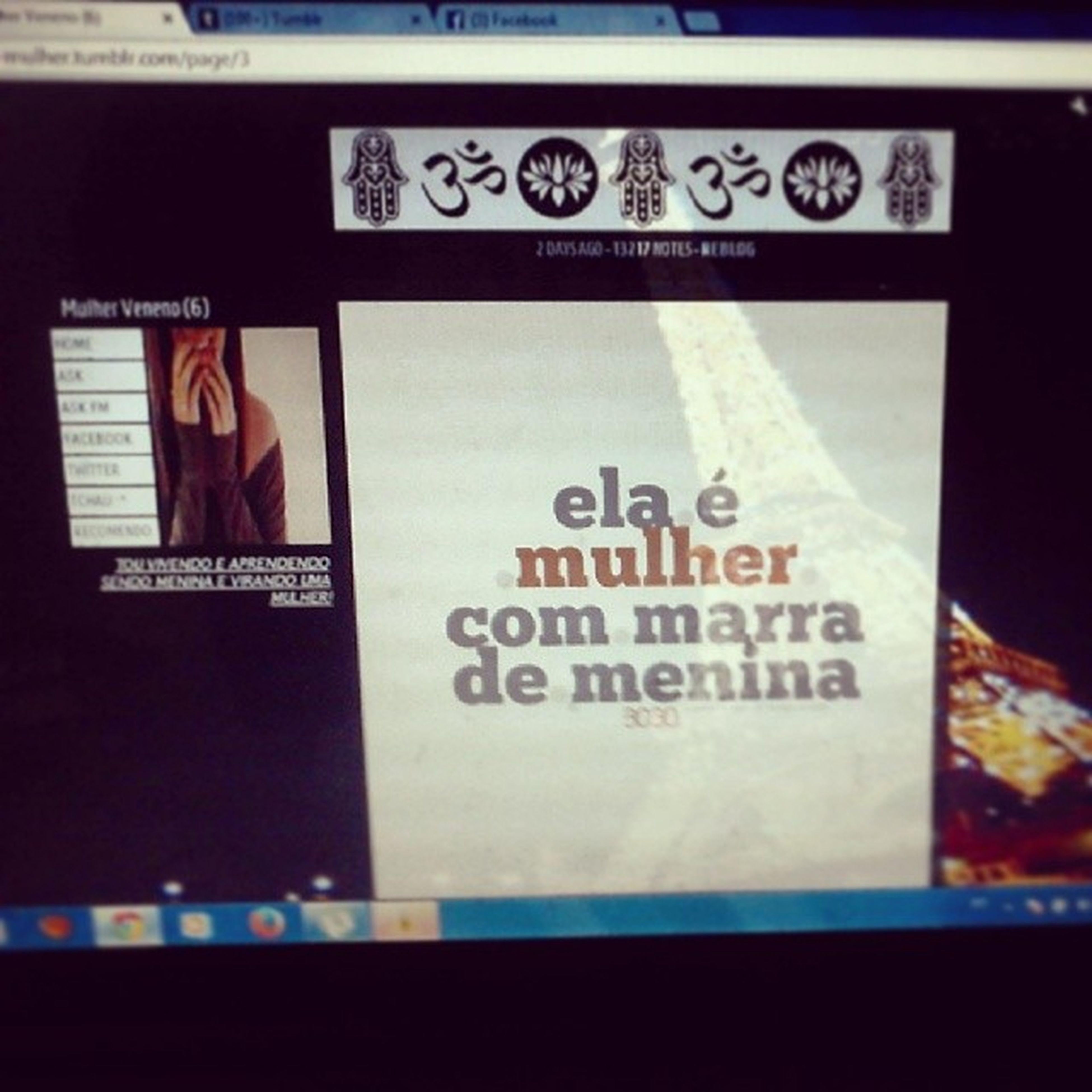 Uma-me-nina-mulher.tambor.com, segue lá :3 Vicio Raimundinho Tamblr