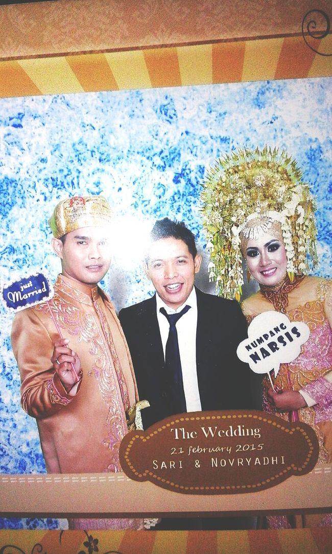 With W.O nya... thx so much bang rizal - tunas catering
