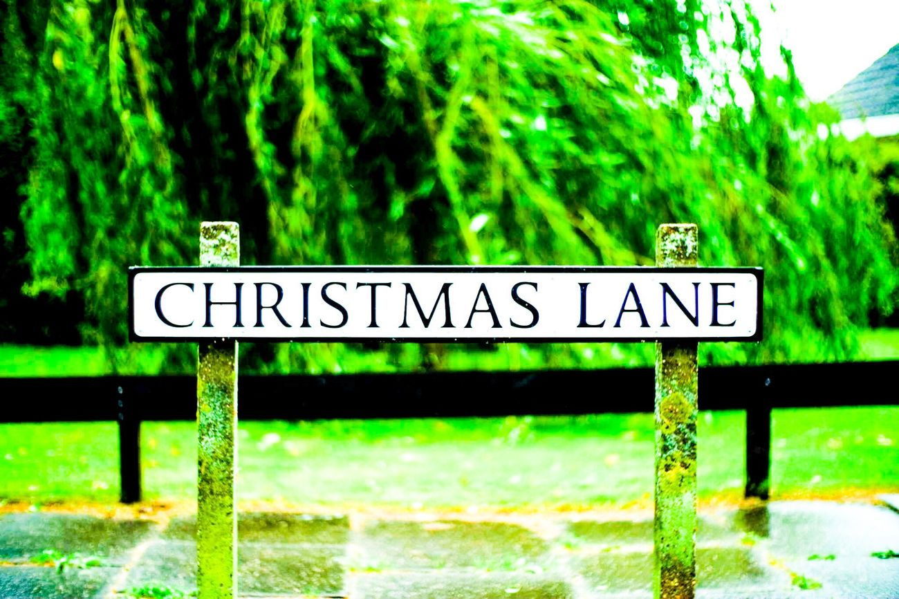 England England🇬🇧 Lowestoft Christmaslane Mybirthplace 25yearsago Sign Symbol No People Street City Street Memories Memory