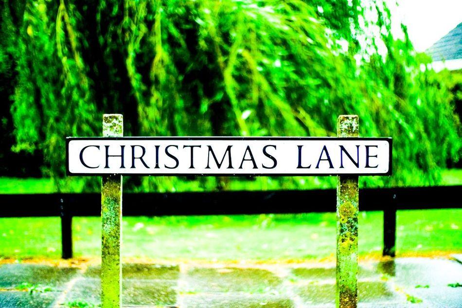 England England🇬🇧 Lowestoft Christmaslane Mybirthplace 25yearsago Sign Symbol No People Street City Street Memories Memory