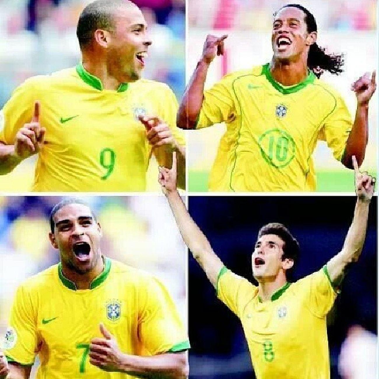 Que tiempos Ronaldo Ronaldinho  Adriano Kaká ??❤⚽