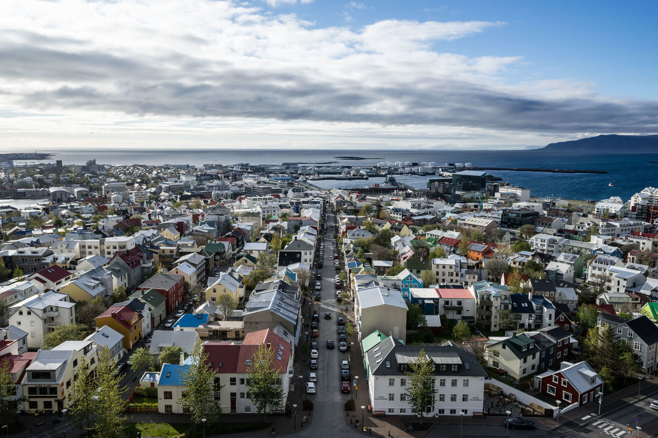 Beautiful stock photos of iceland, Architecture, Building Exterior, Built Structure, City